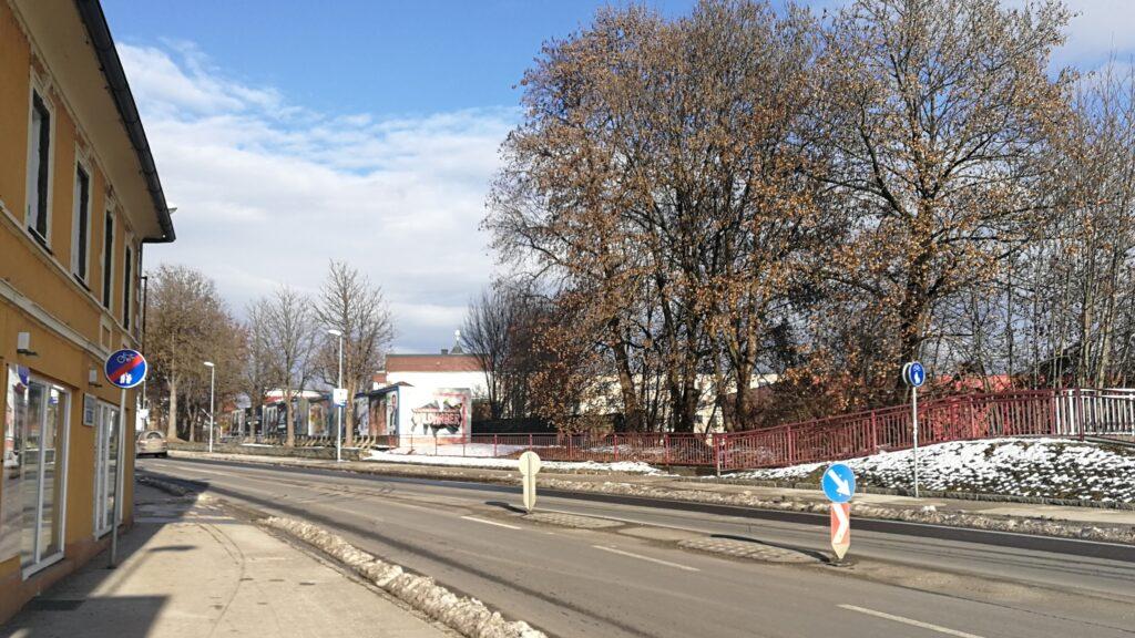 Radfahrer haben es auch in der Villacher Straße in St. Veit schwer.